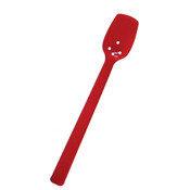 "10""  BUFFET SPOON, PERFORATED, POLYCARBONATE, 3/4 OZ, RED COLOR"