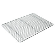 "16"" X 23 3/4"" ICING/COOLING RACK WITH BUILT-IN FEET, CHROME"