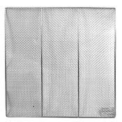 """23"""" SQUARE DONUT SCREENS, STAINLESS STEEL"""