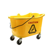 36 QT BUCKET, YELLOW COLOR, PP