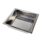 "FLOOR DRAIN STRAINER, 304 STAINLESS STEEL, 0.8MM, 10"" X 10"" X 3"""