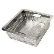 "FLOOR DRAIN STRAINER, 304 STAINLESS STEEL, 0.8MM, 8 1/2"" X 8 1/2"" X 3"""