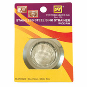 SINK STRAINER, M WIDE RIM