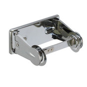 LOCKING TOILET TISSUE DISPENSER, SIGLE, CHROME PLATED