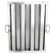 "HOOD FILTER 16"" X 25"", STAINLESS STEEL"