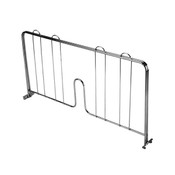 "18"" PRESSURE-FIT SHELF DIVIDER, CHROME"