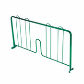 "24"" PRESSURE-FIT SHELF DIVIDER, GREEN EPOXY"