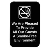 """6"""" X 9"""" INFORMATION SIGN WITH SYMBOLS, WE ARE PLEASED TO PROVIDE ALL.."""