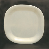 """14"""" X 14"""" ROUND SQUARE PLATE, PASSION PEARL"""
