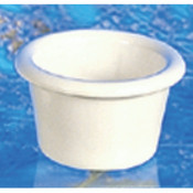 "1 1/2 OZ, 2 1/2"" SMOOTH RAMEKIN, BONE"