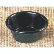 "2 1/2 OZ, 2 7/8"" SMOOTH RAMEKIN, BLACK"