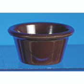 "2 1/2 OZ, 2 7/8"" SMOOTH RAMEKIN, CHOCOLATE"