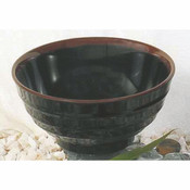 "32 OZ, 6 3/4"" SOUP BOWL, TENMOKU"
