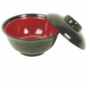 "8 OZ, 4"" SOUP VEGETABLE BOWL, TWO TONE (M)"