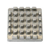 "PUSHER BLOCK FOR FRENCH FRY CUTTER 1/2"" BLADE"