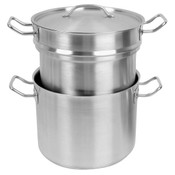16 QT 18/8 STAINLESS STEEL DOUBLE BOILER