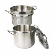 20 QT 18/8 STAINLESS STEEL PASTA COOKER