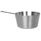 4 1/2 QT ALUMINUM SAUCE PAN, MIRROR FINISH