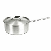 4 1/2 QT 18/8 STAINLESS STEEL SAUCE PAN