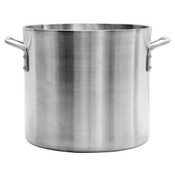 100 QT ALUMINUM STOCK POT, 6MM HEAVY DUTY