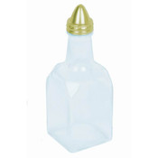 6 OZ GOLD OIL & VINEGAR CRUET
