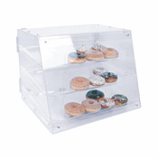 "21"" X 17-1/4"" X 16 1/2"" PASTRY DISPLAY WITH 3 TRAY"