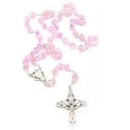 Pink Crystal Rosary