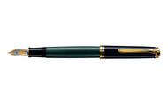 Pelikan Souveran 600 Green Black Fountain Pen