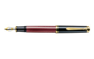 Pelikan Souveran 600 Red Black Fountain Pen