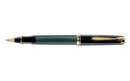 Pelikan Souveran 800 Green Black Rollerball Pen