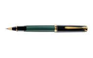 Pelikan Souveran 400 Green Black Rollerball Pen
