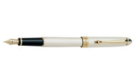 Aurora 88 Sterling Silver Gold Plated Trim Fountain Pen