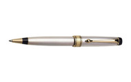 Aurora Optima Sterling Silver Gold Plated Trim Ballpoint Pen