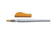 Pilot Parallel Orange Fountain Pen With 2.4mm Nib