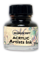 Manuscript 30ml Sepia Artists Acrylic Ink Bottle