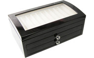 Laban Thirty Pens Wooden Pen Chest With Open Top