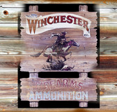 Winchester Old Wooden Sign 11 x 11 x 1