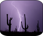 Arizona Desert Lightning Night