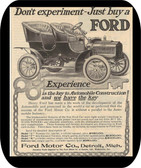 Buy A Ford Advertising 1905