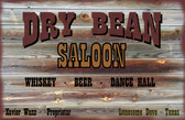 OLD WOOD Lonesome Dove Dry Beam Saloon Old Wooden Sign 11 x 17 x 1