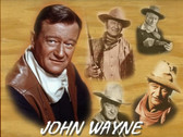 John Wayne Photo Collage 8 x 10 Photo