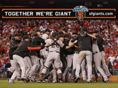 San Francisco Giants 2014 World Series Champions 8 x 10 Photo