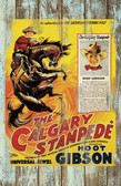 Calgary Stampede Wth Hoot Gibson Vintage Old Wood Sign 11 x 11 X 1