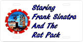 Sands Hotel Las Vegas And The Rat Pack Motivational License Plate