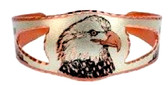 American Bald Eagle Copper Bracelet