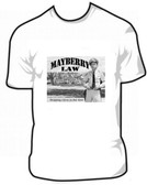 Barney Fife Andy Griffith Show Mayberry Law T Shirt
