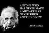 Famous Quote Poster  Anyone Albert - New Best