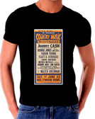 Johnny Cash Country Music Poster T-Shirt