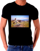 Charles Russell Buffalo Hunt T Shirt