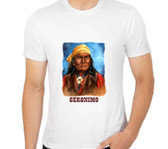 Geronimo Apache WArrior and Chief  T Shirt